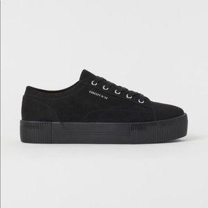Divided Platform Sneaker